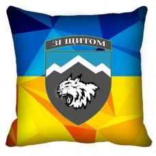 Декоративна подушка 108 Окремий Гірсько-Штурмовий Батальйон (Знак)