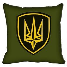 Декоративна подушка Бригада Швидкого Реагування НГУ (олива)