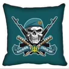 Купить Декоративна подушка Морська пiхота з черепом в интернет-магазине Каптерка в Киеве и Украине
