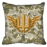 Декоративна подушка Авіація (піксель)