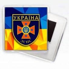 Купить Магнітик ДСНС (шеврон)  в интернет-магазине Каптерка в Киеве и Украине