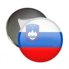 Купить Відкривачка з магнітом Прапор Словенії в интернет-магазине Каптерка в Киеве и Украине