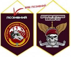 Вимпел 1 ДШБ 79 ОДШБр з позивним Череп