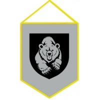 Вимпел Мотопіхотний Батальйон 128 ОГШБр (сірий)