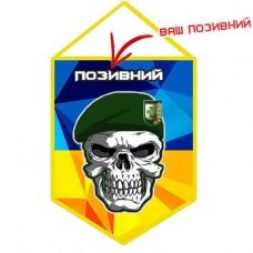 Вимпел ДПСУ з черепом (позивний на замовлення) Попередній знак