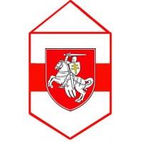 Вимпел Погоня традиційний національний герб Білорусі.
