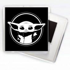 Купить Магнітик Baby Yoda в интернет-магазине Каптерка в Киеве и Украине