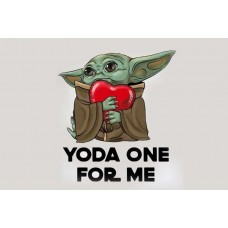 Прапор Baby Yoda One For Me
