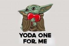 Купить Прапор Baby Yoda One For Me в интернет-магазине Каптерка в Киеве и Украине