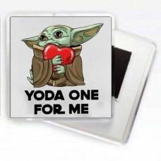 Магнітик Baby Yoda One For Me