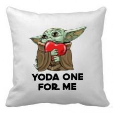 Купить Подушка Baby Yoda One For Me в интернет-магазине Каптерка в Киеве и Украине