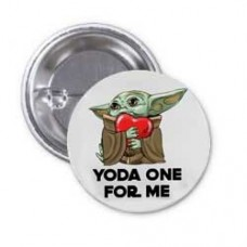 Значок Baby Yoda One For Me