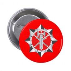 Значок ВСП (червоний)