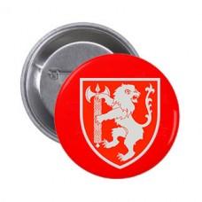 Значок Західне ТУ ВСП (червоний)
