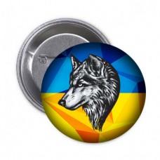 Купить Значок 8 ОГШБ (вовк) в интернет-магазине Каптерка в Киеве и Украине