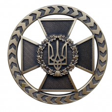 Купить Беретний знак ДПСУ нового зразка 2021 в интернет-магазине Каптерка в Киеве и Украине