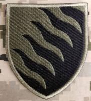Нарукавний знак 55 ОАБр Запоріжська Січ Польовий