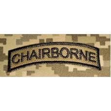 "- Шеврон ""дужка"" Chairborne (койот)"
