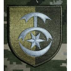 Шеврон 30 ОМБр імені князя Костянтина Острозького (польовий)