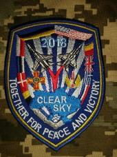 Шеврон Clear Sky