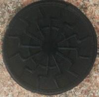 Нашивка Черное Солнце вишивка (чорна) Спеціальна ціна