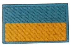 Нашивка прапор України 5см (блакитний кант)