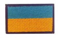 Нашивка прапор України 5см (синій кант)