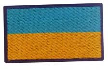 Нашивка прапор України 6см (синій кант)
