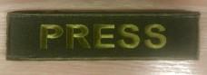 Нашивка PRESS olive