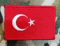Нашивка прапор Туреччини