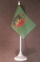 Настільний прапорець 24 ОМБр ім. короля Данила (хакі)
