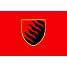 Прапор 55 ОАБр (червоний)