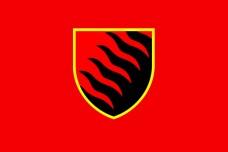 55 ОАБр прапор (червоний)