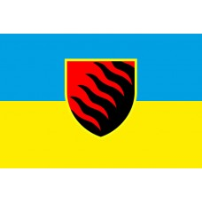 55 ОАБр прапор (синьо-жовтий)