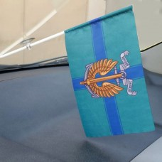Автомобільний флажок Морська Піхота України Вірний Завжди! КМП