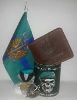 Флаг Морська Піхота України Вірний Завжди! КМП Настільний прапорець