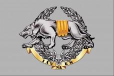 Прапор ССО Вовкулака знак Сили Спеціальних Операцій ЗС України (Варіант)