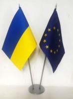 Металева підставка для 2 прапорців
