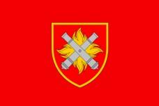 Прапор 27 ОРАБр (червоний)