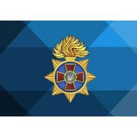 Прапор Національна гвардія України (кольоровий стилізований)
