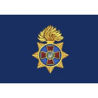 Прапор Національна гвардія України (синій)