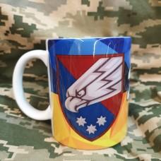 Купить Керамічна чашка 25 ОПДБр Ніхто, крім нас! в интернет-магазине Каптерка в Киеве и Украине