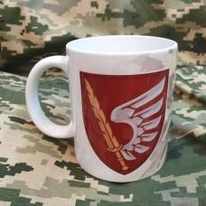 Керамічна чашка 79 ОДШБр Завжди перші! (піксель)