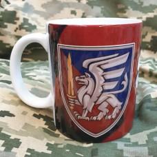 Керамічна чашка 81 ОАЕМБр (марун)