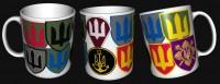 Керамічна чашка Нові Знаки (Шеврони) ЗСУ