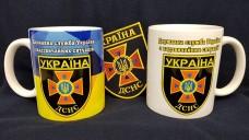 Керамічна чашка ДСНС (біла)