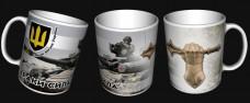 Керамічна чашка Траки Сила! Танкові Війська ЗСУ