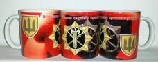 Купить Керамічна чашка ВСП (кольорова) в интернет-магазине Каптерка в Киеве и Украине