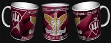 Керамічна чашка ДШВ (знак, шеврон)