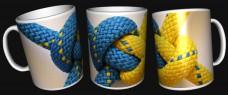 Купить Керамічна чашка Український вузол в интернет-магазине Каптерка в Киеве и Украине